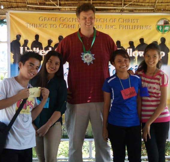 Pat Kilgo in the Philippines